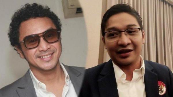 Giring dan Pasha (Foto: Tribunnews)
