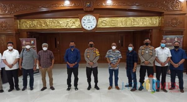 Kapolda Jawa Timur Irjen Pol Nico Afinta Menggelar Audiensi Bersama Dengan PWI Jatim