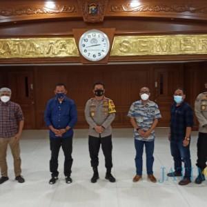 Kapolda  Gandeng PWI Perangi Berita Hoax di Wilayah Jatim