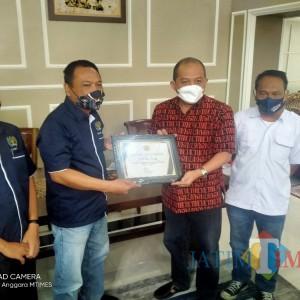 Rumah Dinas Ketua DPRD Kota Malang Digeruduk Organisasi Wartawan