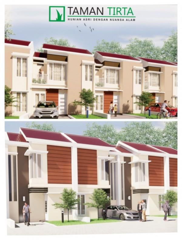 Rumah dua lantai dengan harga terjangkau di Taman Tirta. Hanya Rp 400 juta-an. (Ist)