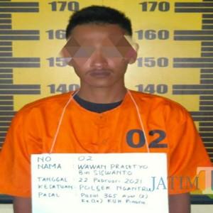 Polisi Bekuk Jambret Kambuhan di Tulungagung, Sejumlah TKP Diakui Tersangka