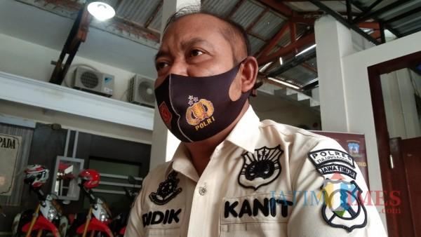 Kanit Pitsus Satreskrim Polres Tulungagung, Iptu Didik Riyanto (Joko Pramono for Jatim TIMES)