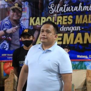 Cegah Serbuan Suporter di Piala Menpora 2021, Polres Malang Kumpulkan Perwakilan Aremania