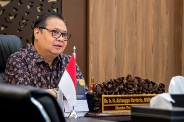 Menteri Koordinator Bidang Perekonomian Airlangga Hartarto (Foto : Internet)