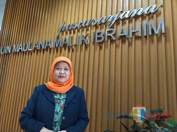 Direktur Pascasarjana UIN Malang Prof Dr Hj Umi Sumbulah MAg