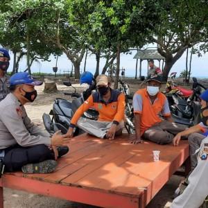Hari Kelima, Polair Polres Malang Cari Korban Tenggelam di Perairan Pulau Sempu