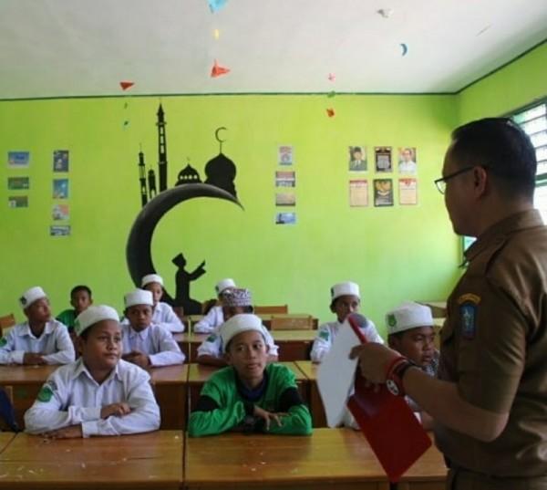 Foto: ilustrasi pembelajaran di dalam kelas