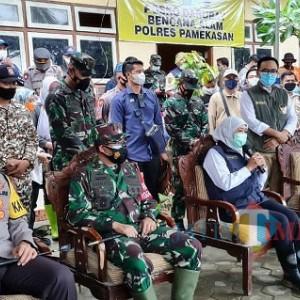 Korban Longsor di Pamekasan Dapat Santunan dari Gubernur Jatim