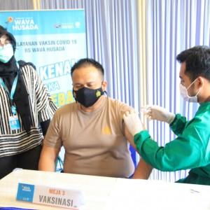 382 Personel Polres Malang Sukses Lakukan Vaksinasi, 19 Tak Lolos Screening Awal
