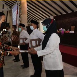 Ratusan Pegawai di Pemkab Malang Resmi Menerima SK PPPK