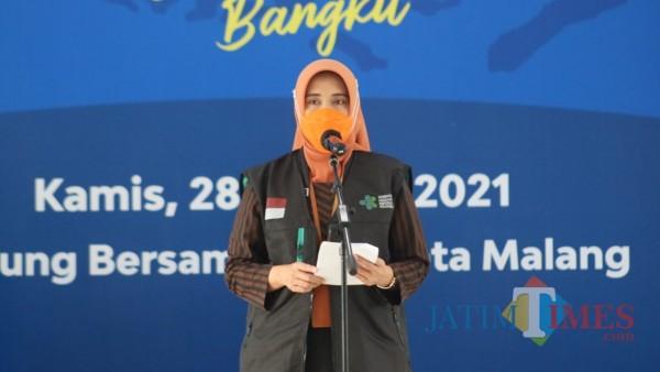 Plt Kepala Dinas Kesehatan (Dinkes) Kota Malang Sri Winarni. (Ahmad Amin/MalangTIMES).