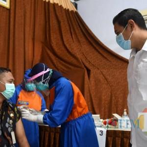 Vaksinasi Pelayan Publik Kota Kediri Targetkan Selesai Awal Maret 2021