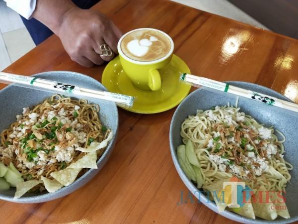 Salah satu menu di Warung Mbatoe Kota Batu (Foto Muklas JatimTimes)
