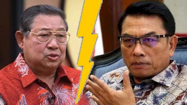 SBY dan Moeldoko (Foto: IST)