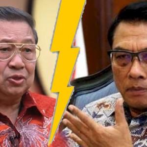"""""""Perang"""" Terbuka SBY Vs Moeldoko Terkait Isu Kudeta Partai Demokrat"""
