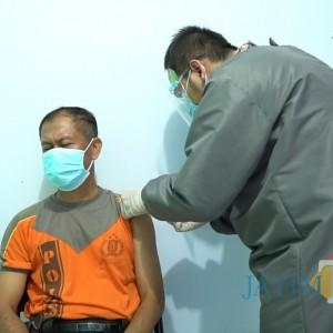 1.124 Polisi Jombang Ikuti Vaksin Covid-19, Ini Pesan ke Masyarakat
