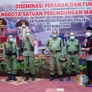 Wali Kota Malang Canangkan Insentif Linmas Naik Tahun 2022