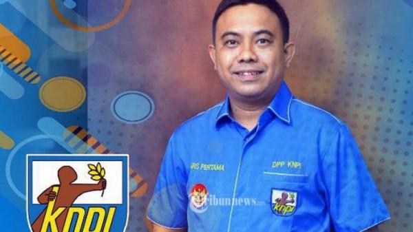 Ketua KNPI Haris Pertama (Foto: Tribunnews)