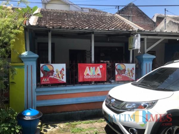 Rumah terduga teroris di Malang yang sempat membuat heboh (Hendra Saputra)