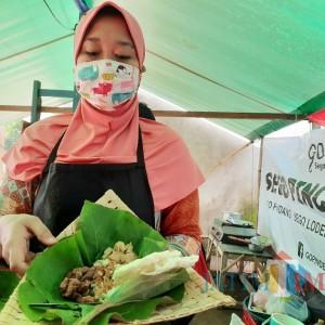 Nikmatnya Nasi Lodeh Daun Jati Sajian Mantan Pramugari Bikin Lidah Ketagihan