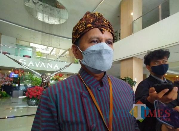 Kepala DLH Kota Malang, Wahyu Setianto yang juga Plt Kepala Diskopindag Kota Malang (Anggara Sudiongko/MalangTIMES)