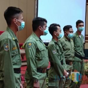 Satpol PP Kota Malang Harap Linmas Bisa Lakukan Regenerasi