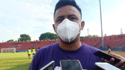 Anwar Basalamah, Media Officer Persik Kediri. (Foto: Ist)