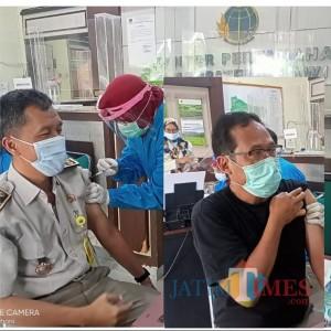 101 Pegawai BPN Ngawi Disuntik Vaksin Covid-19