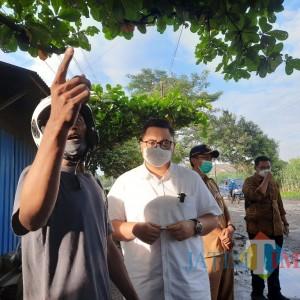 Hari Pertama Masuk Kerja Bupati Kediri Sidak Jeglongan Sewu