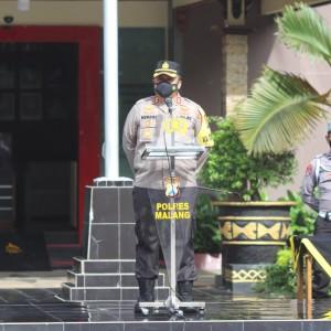 Pejabat Utama Rencana Dimutasi, Kapolres Malang Minta Tetap Pertahankan Predikat