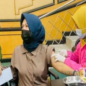 132 Orang di DPRD Jombang Disuntik Vaksin Covid-19