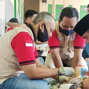 Special Anniversary 2 Tahun, Jurnalis Center Pamekasan Khitan Gratis 162 Anak di 5 Desa