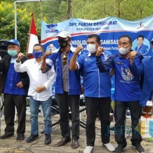 Bangun Basis Massa, DPC Demokrat Kabupaten Malang Rutin Turba ke Dapil