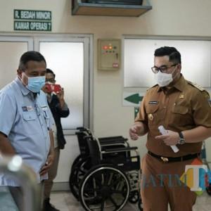 Hari Kedua Kerja, Bupati Kediri Lakukan Sidak di Rumah Sakit