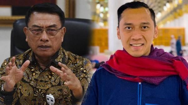 Moeldoko dan Ibas Yudhoyono (Foto: IST)