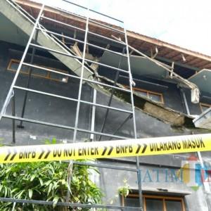 Atap Gedung Kesenian Kota Batu Ambrol, Seniman Berharap Segera Diperbaiki