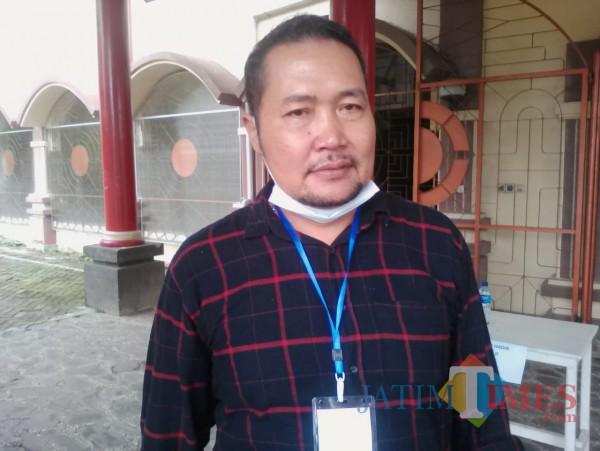 Jos Rudi, salah seorang pengurus Persewangi Banyuwangi (Nurhadi Banyuwangi/ JatimTimes)