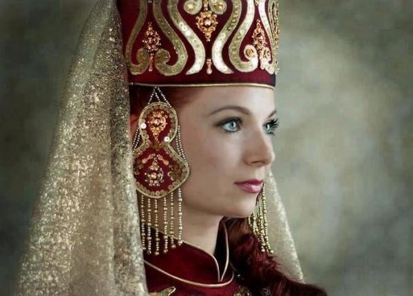 Kecantikan wanita Sirkasia (Foto: Index Fórum)