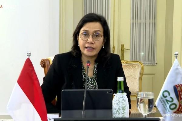 Menteri Keuangan Indonesia Sri Mulyani (Foto : Internet)