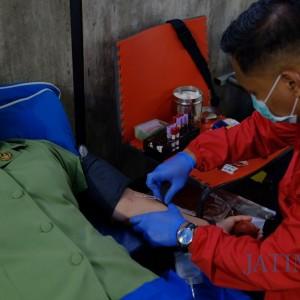 Dukung Kesembuhan Pasien Covid-19, Ketos Gelar Donor Darah dan Donor Plasma Konvalesen