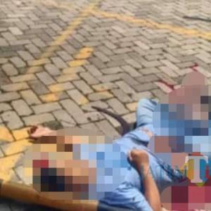 Breaking News: Pria Tewas di Depan Indomaret, Diduga Pembunuhan Berencana