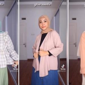 Buat Kalian yang Bertubuh Kurus, Ini Tips Memilih Outfit Berhijab yang Kece