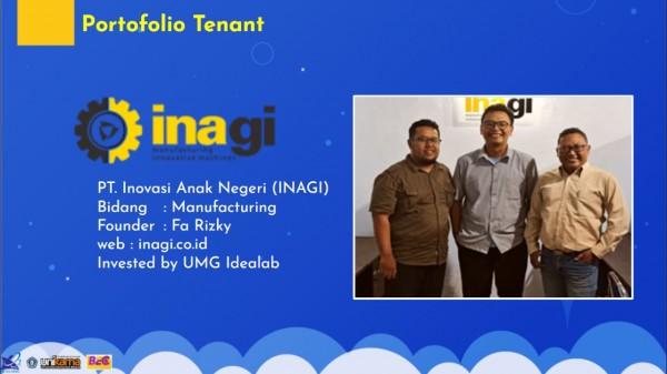 Salah satu start-up yang dilahirkan BEC Unikama (Ist)