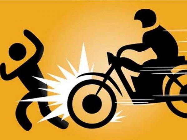Ilustrasi pengendara sepeda motor yang menabrak pejalan kaki (foto: istimewa)