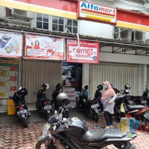 Alfamart Sukun Kota Malang Dibobol Maling, Uang dan Barang Berharga Lainnya Raib