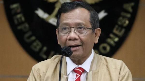 Menteri Koordinator Politik, Hukum dan Keamanan RI Mahfud MD. (Foto: Dok. Humas Polhukam)