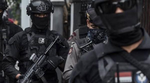 Densus 88 Anti-Teror (foto: Bara News Aceh)