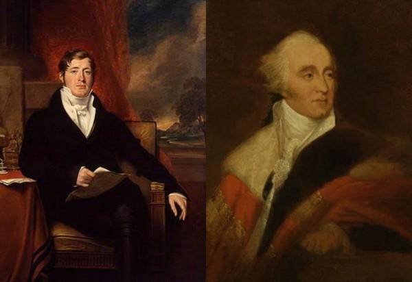 Kolase Thomas Stamford Raffles dan Lord Minto