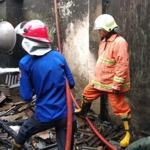 Rumah Terbakar, Api Diduga Dipicu Tungku